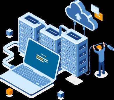 epnox Rechenzentrum Cloud Dienstleistungen IT Service Anbindung CoLocation Serverhousing Infrastruktur Netzwerkkomponenten Integrierte Backup Leistungsstarke Internetanbindung