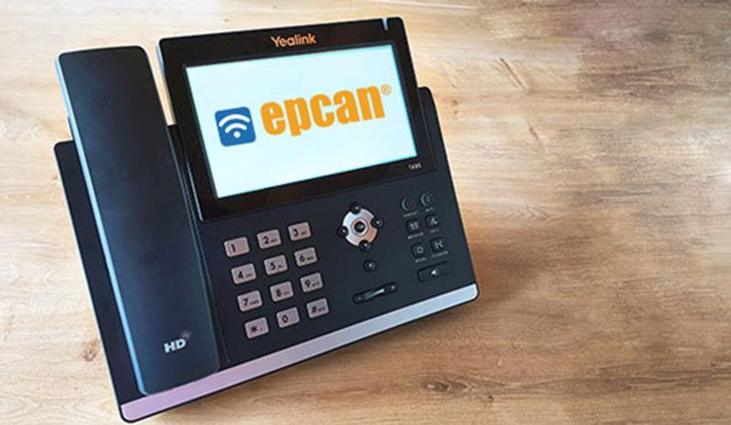 VoIP Gerät - epcan Dienstleistungen