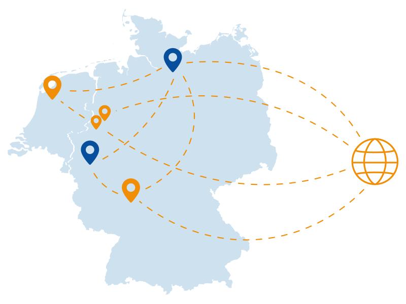 epcan Breitband Lösungen Standortvernetzung Höchste Sicherheitsstandards 1000 Standorte Zusammenarbeit Zentralen Filialen mobile Nutzer Home-Office Arbeitsplätze